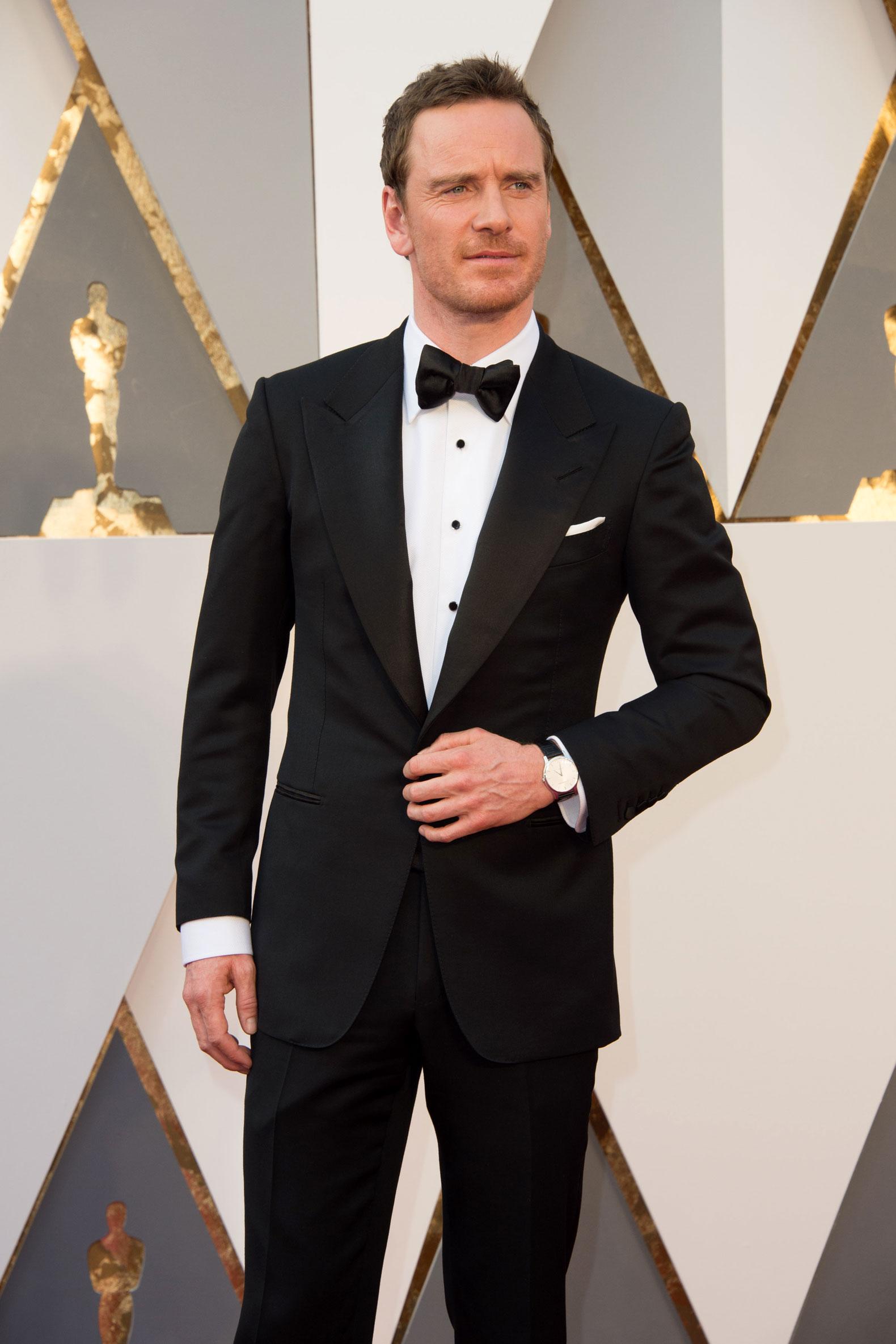 Les Oscars 2016 : quan... Michael Fassbender 2016